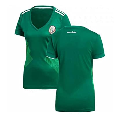 CCLLc México Traje Femenino De Fútbol 2018 Copa Mundial De Fútbol Camisetas De Fútbol De Gran