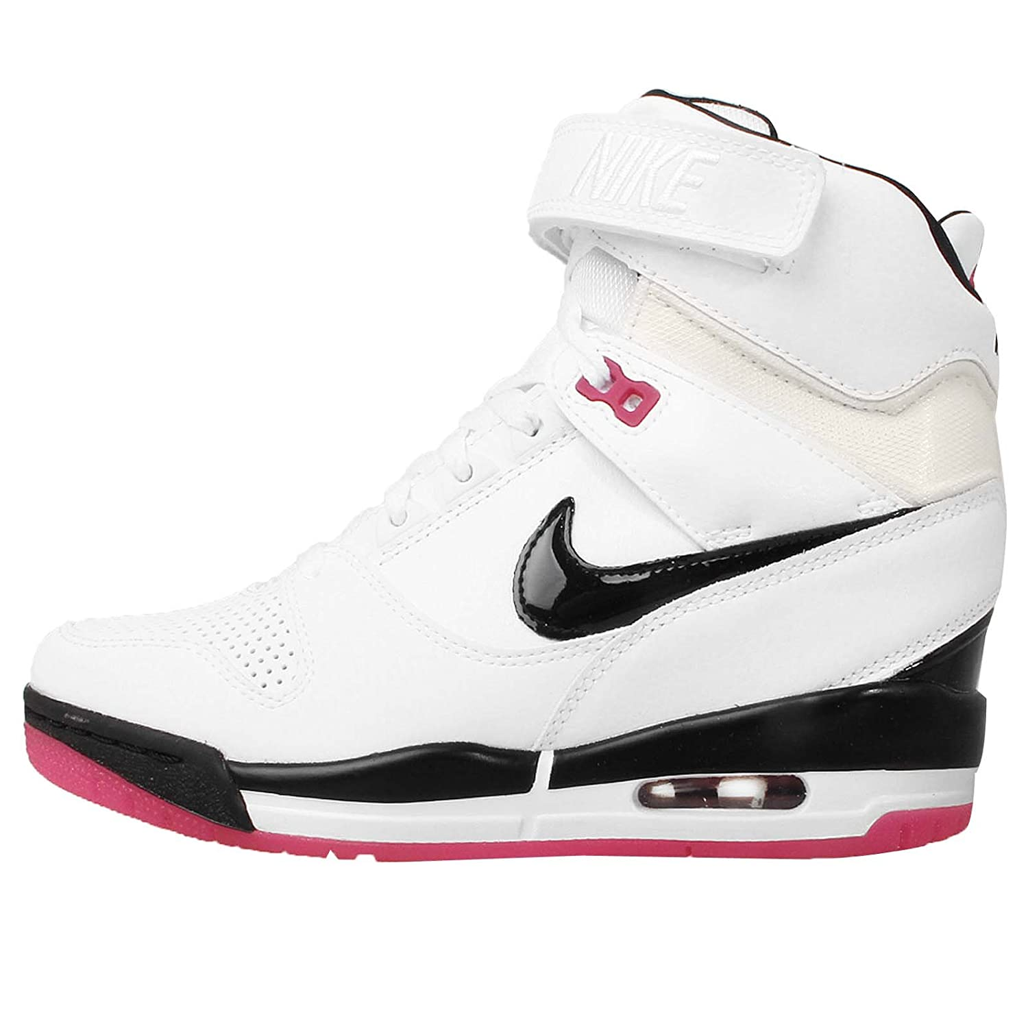 2c55ec635a6d NIKE Womens WMNS Air Revolution Sky White Fireberry Pink Fashion Sneakers  (599410-103)