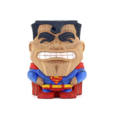 "Cryptozoic DC Comics Teekeez Superman 2.5"" Stackable Vinyl Figure - Window-Box: Toys & Games"