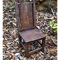 Reclaimed Wood Dining Chair - Farm Chair