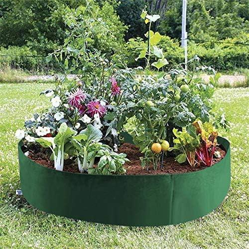 Maceta redonda para plantas, maceta de jardín con forma de maceta ...
