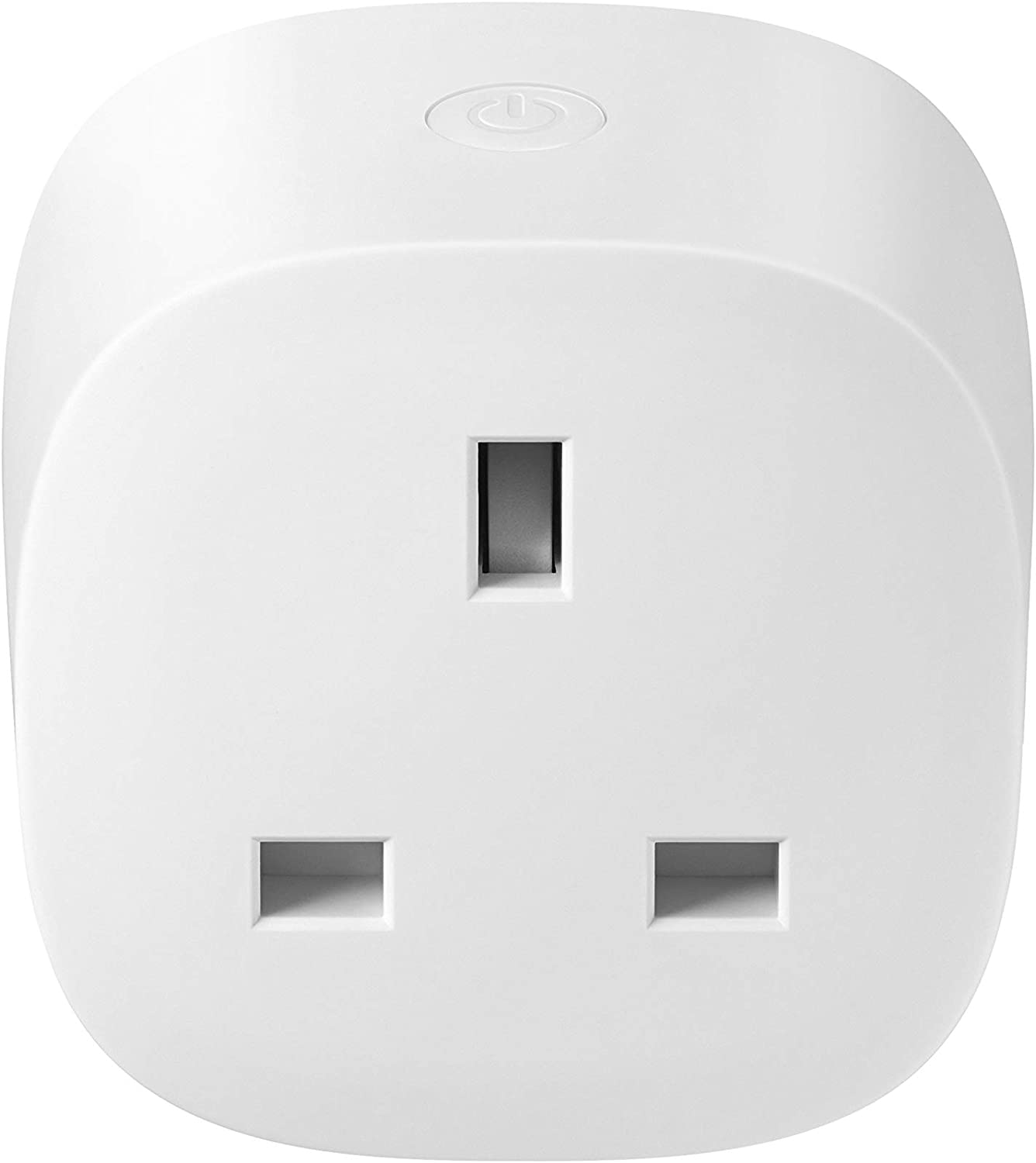 SmartThings GP-WOU019BBDWG Smart Plug 2019, Compatible with Amazon Alexa and Google Home, 1pack, White
