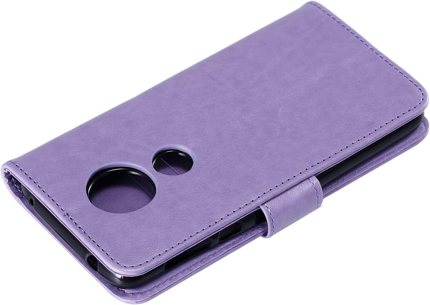 Lomogo Moto G6Play//Moto E5 H/ülle Leder Schutzh/ülle Brieftasche mit Kartenfach Klappbar Magnetisch Sto/ßfest Handyh/ülle Case f/ür Motorola Moto G6 Play LOHHA130521 Blau