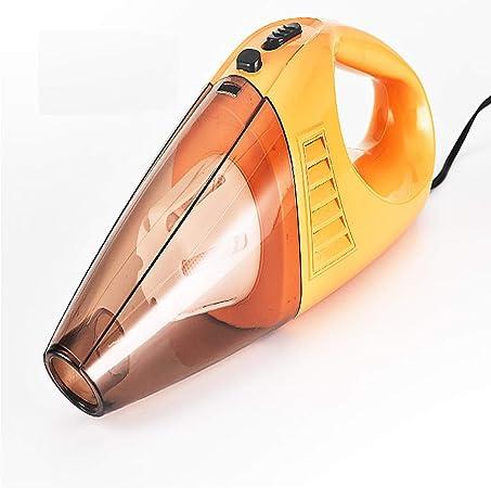 HPYR Car Gift - Aspirador pequeño de Alta Potencia para Aspirador de Bolsillo de Alta Potencia, Ligero y portátil, Color Blanco, Negro y Naranja, aleación, 3, L 100.00watts: Amazon.es: Hogar