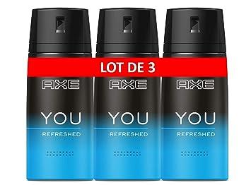 Journéelot De Déodorant Homme Sels Sentir Axe Toute Sans You D'aluminiumRefreshPour Bon Spray La 3x150ml 3R54AjL