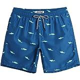 MaaMgic Mens Short Swim Trunks Boys Quick Dry...