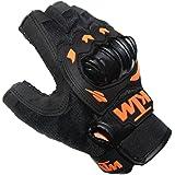 Delhi Traders Riding Gloves For Ktm (Orange:Black_X-Large)