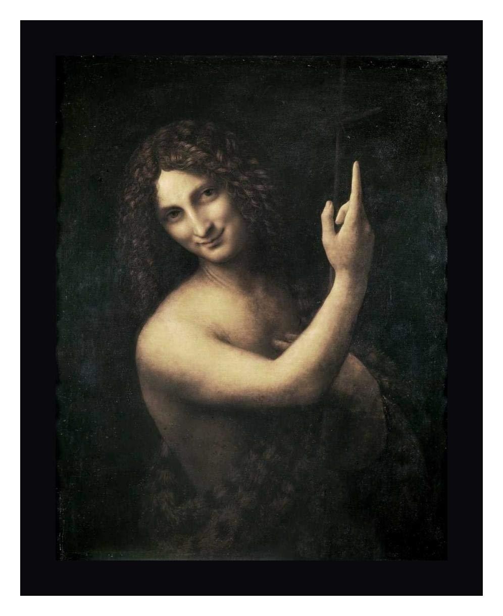 St John The Baptist by Leonardo Da Vinci - 13