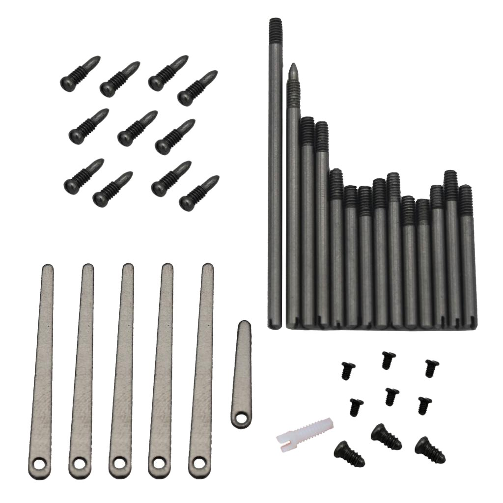 MonkeyJack Instrument Repair Part Screws 6 Sets for Clarinet Maintenance Replacement