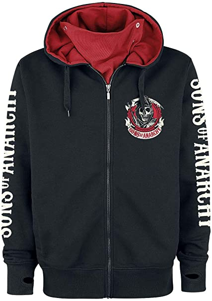 Sons Of Anarchy American Outlaw Sudadera capucha con ...