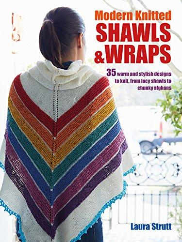 Amazon Modern Knitted Shawls Wraps Book Laura Strutt Arts