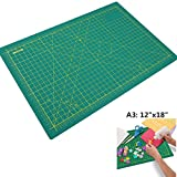 Self Healing Cutting Mat Double Sided Durable 5-Ply 12'' x 18'' (A3)