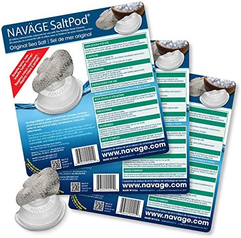 Navage SaltPod Bundle: 3 SaltPod 30-Packs (90 SaltPods) 44.85 if Purchased Separately