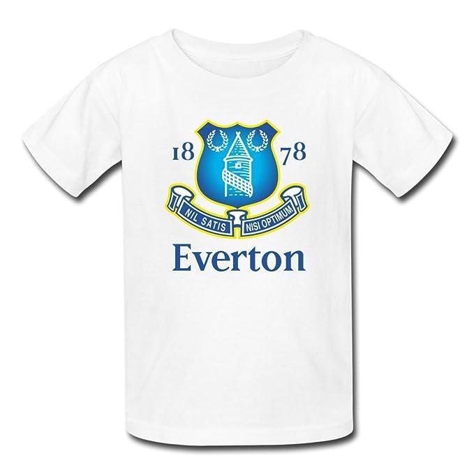 Teen T camisas camisetas de fútbol de Everton Football Club escuela de ciencia: Amazon.es: Ropa y accesorios