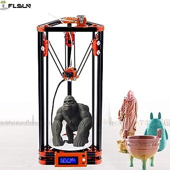 flsun kossel 3d printer Desktop Delta DIY Kit with large 3d ...