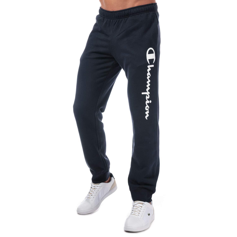 Champion Logo - Pantalones de Deporte para Hombre, Color Azul ...