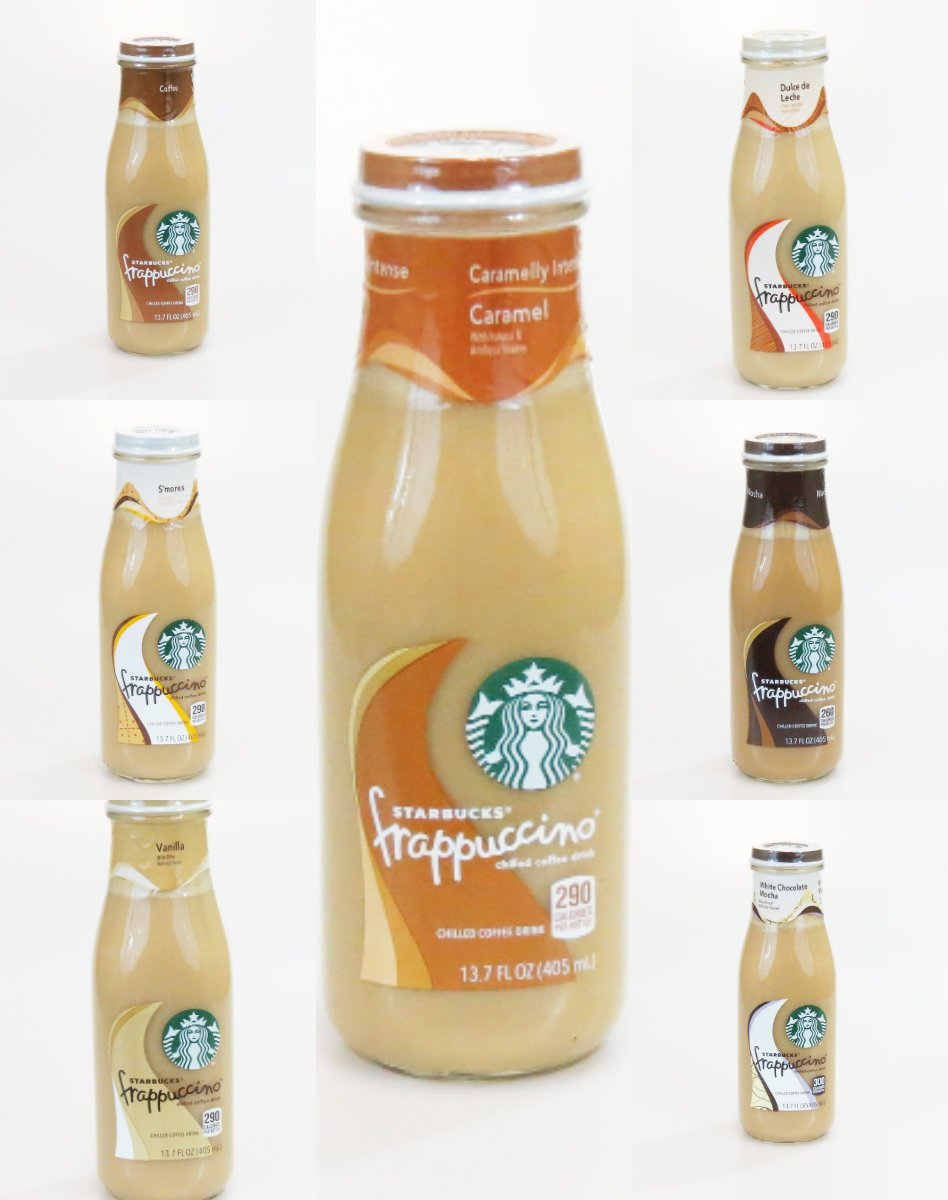Frappuccino Chilled Coffee Drinks (Flavor Pack 1): Amazon.com: Grocery & Gourmet Food