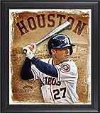 "Best Sports Memorabilia Sports Memorabilia Collage Makers - Jose Altuve Houston Astros Framed 15"" x 17"" Review"