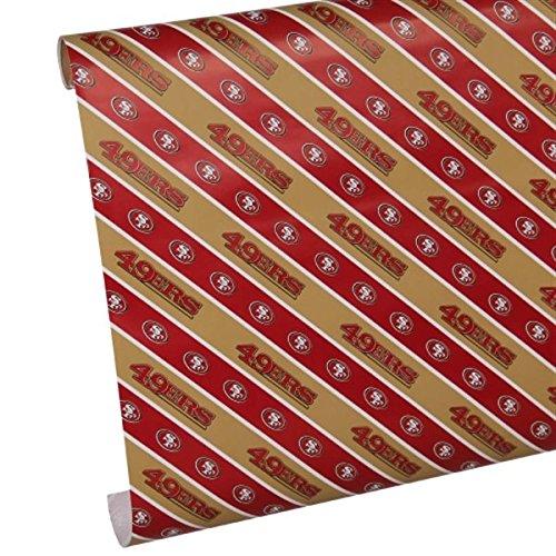 San Francisco 49ers Gift Wrap