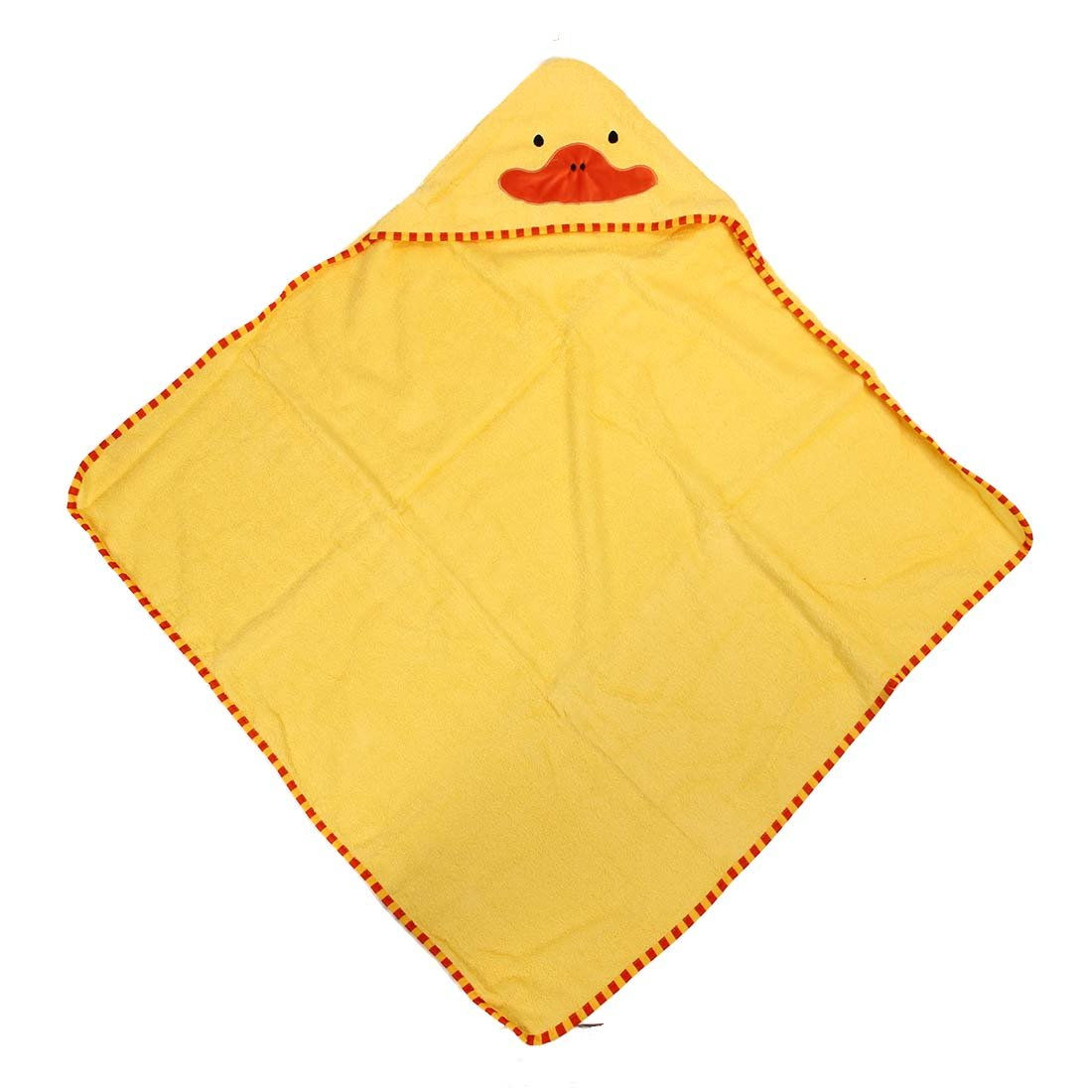 Kids Bath Towels - TOOGOO(R)Kids Bath Towels Cute Animal-Shaped Hooded Cotton Bathing Wrap Blanket(Duck)