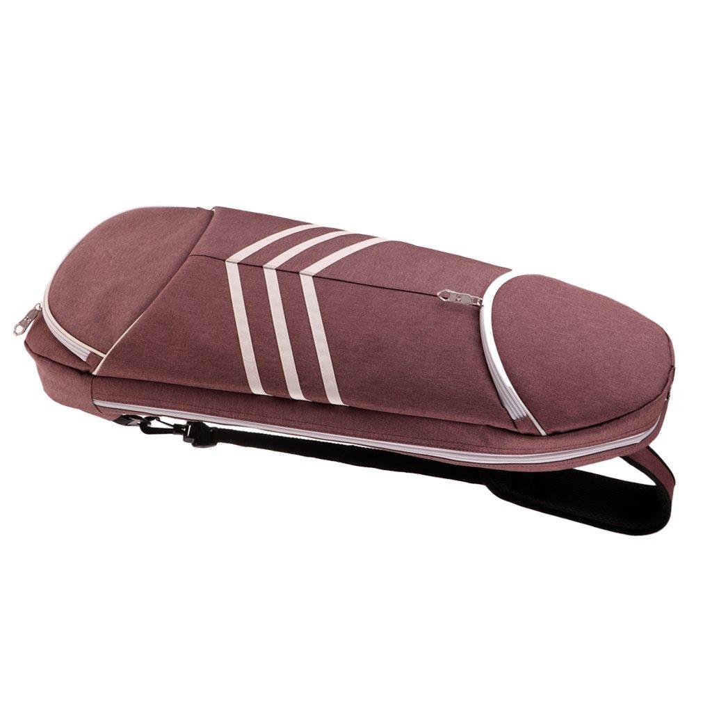 ein Eimer B/älle ein Paar Schuhe und ein Sportanzug zu Aufbewahren Homyl Tennistasche Badmintontasche Squashtasche f/ür 5 Schl/äger