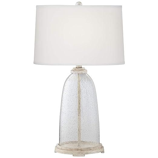 Amazon.com: Emerson – Lámpara de mesa de cristal con ...