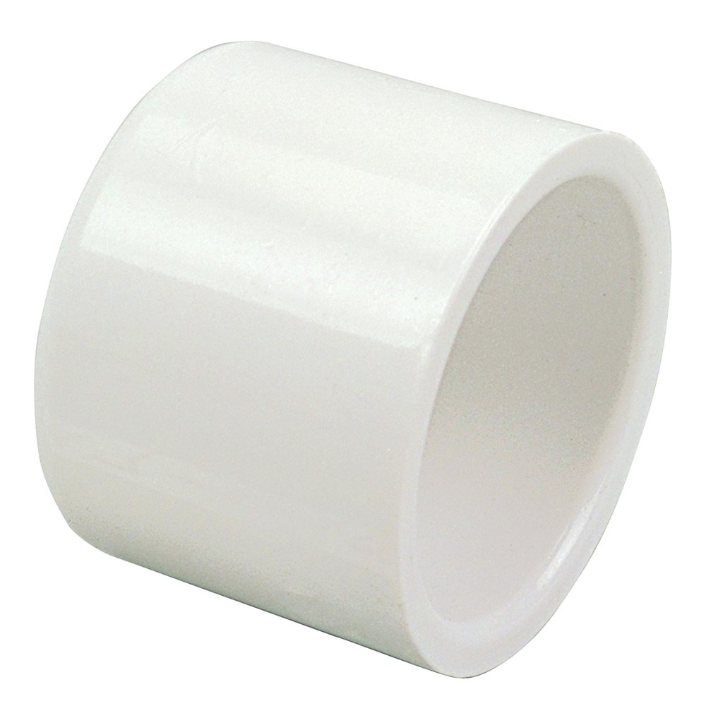 NIBCO 447 Series PVC Pipe Fitting, Cap, Schedule 40, 3/4'' Slip