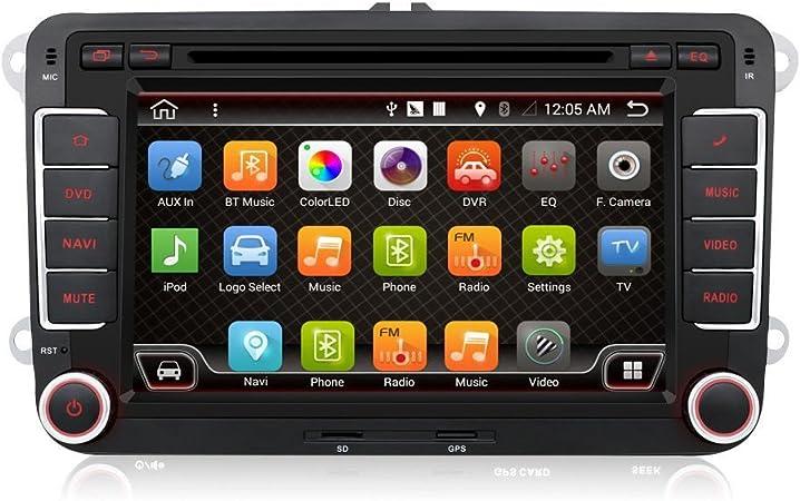 Auto Stereo Für Vw Jetta Golf Eunavi 17 8 Cm 2 Din In Elektronik