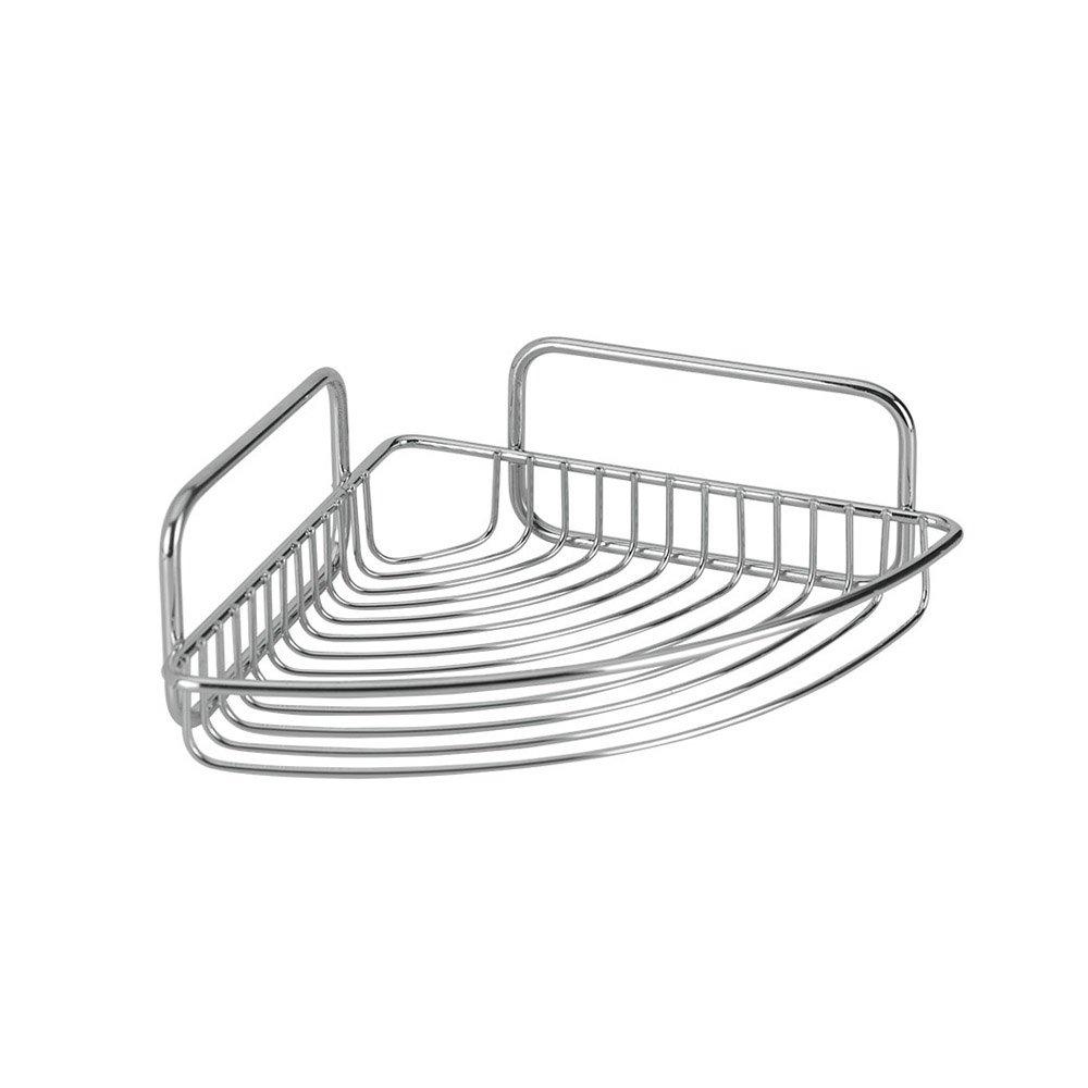 Metaltex 404510'' Mallorca Corner Shelf, 7.87'' x 7.87'' x 3.19''