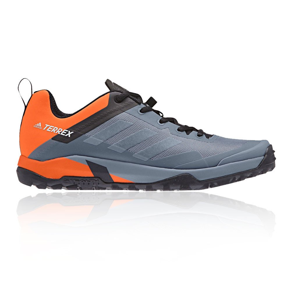 Adidas Terrex Trail Cross SL, Zapatillas de Running para Asfalto para Hombre 44 EU|Gris (Rawste/Greone/Orange Rawste/Greone/Orange)