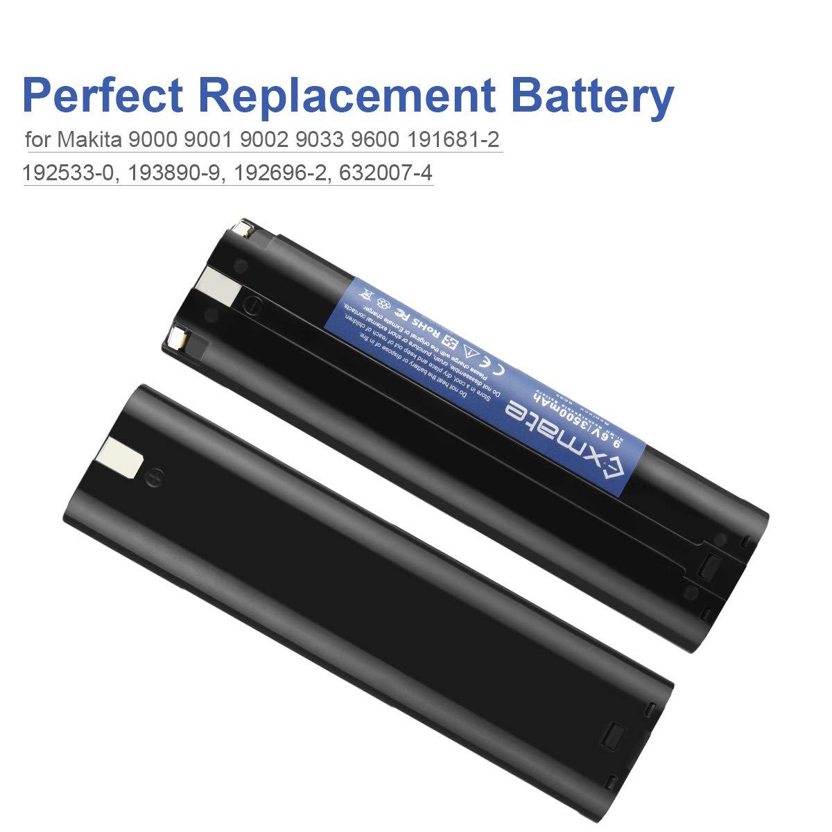 Exmate 14.4V Cargador Compatible con Makita BL1430 Bater/ía de Litio No para bater/ía de Ni-MH//Ni-Cd