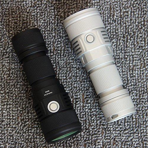 SC02 MTG2 5000K 26650 2000LM EDC LED Flashlight (Color Silver) by LEEPRA (Image #7)