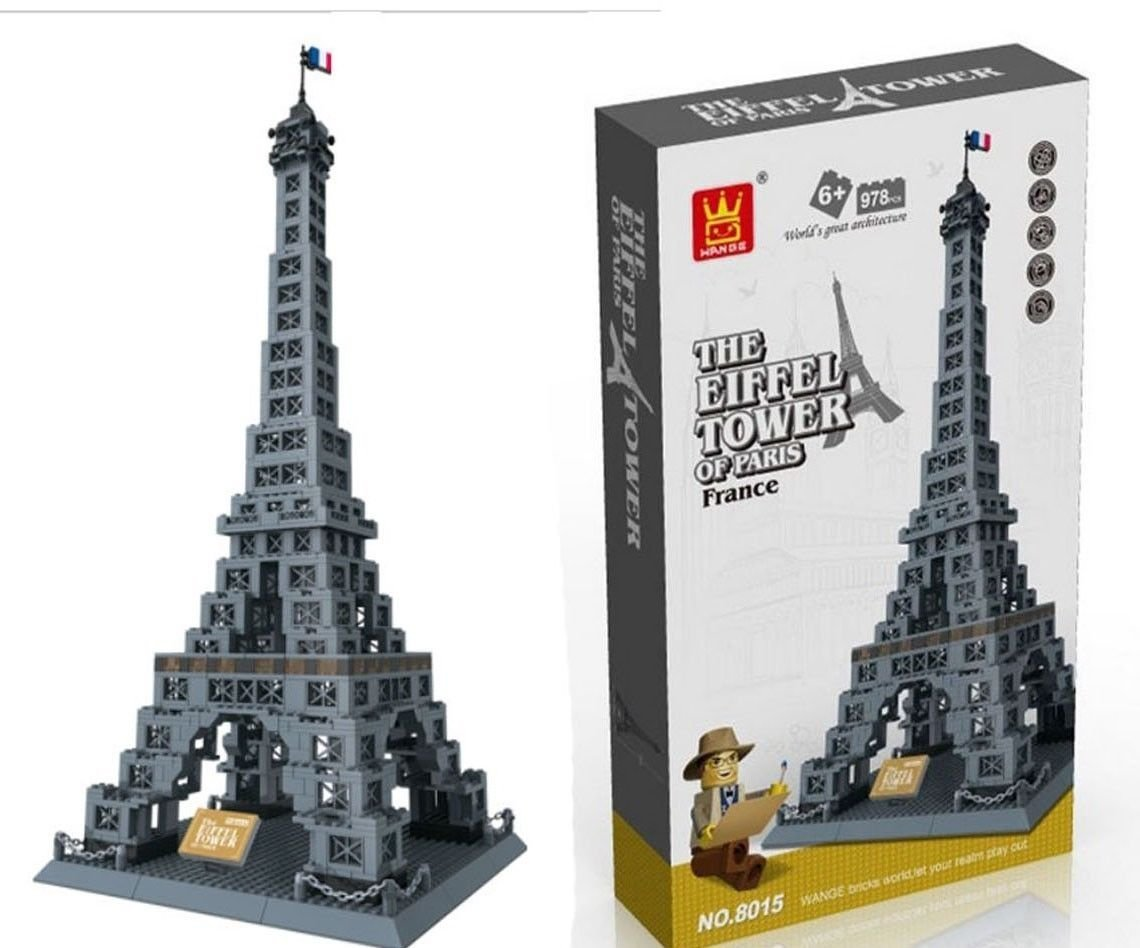 Top 5 Best LEGO Eiffel Tower Sets Reviews in 2020 4