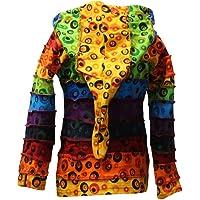 Shopoholic Fashion Children Pixie Colorful Hippie Striped Hoodie Hippy Boho Kids Sweater Jacket