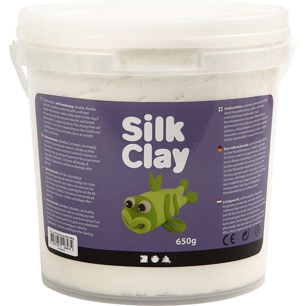 Silk Clay®, weiß, 650g Silk Clay® weiß