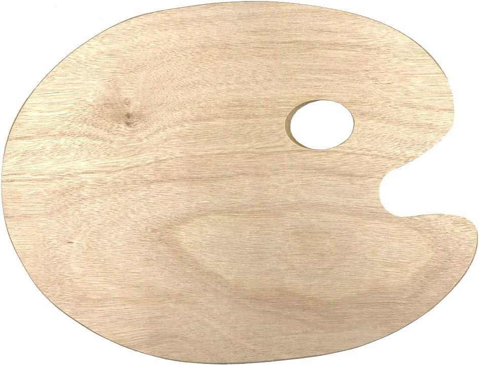 Mischpalette für Malen Holz Farbpalette Malpalette Farbmischpalette Geschenk Neu