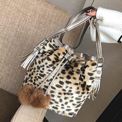 loisirs de sauvage de sacs à manutention en hobo filles main Femme'S pour Top Bandoulière sac Sacs bandoulière Sac Sacs peluche D C à UwYnZFq8