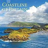 Coastline of Britain 2019 12 x 12 Inch Monthly Square Wall Calendar, UK United Kingdom Ocean Sea Scenic Nature (Multilingual Edition)