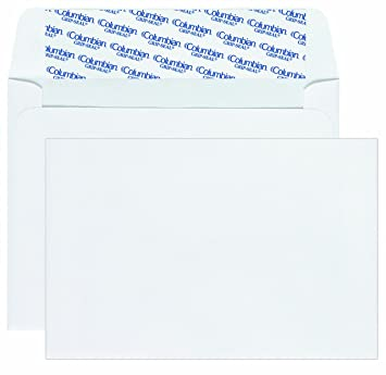Amazon Com Columbian Invitation Envelopes A9 Grip Seal 5 3 4 X