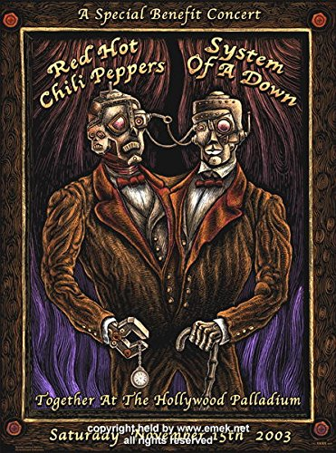 Red Hot Chili Peppers Concert Poster - 7