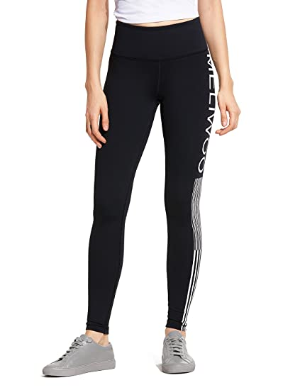 d972ae1516ac8 CRZ YOGA Womens Naked Feeling High Waist Tummy Control Stretchy Sport  Running Leggings with Out Pocket