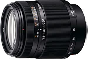 Sony SAL18250 Alpha DT 18-250mm f/3.5-6.3 High Magnification Zoom Lens