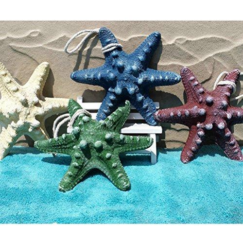 BESTOYARD Adorno Estrella de mar Acuario Tanque de Peces Estrella de Mar Resina Artificial Animales Marinos para Acuario Decoración de Muebles para Peces ...