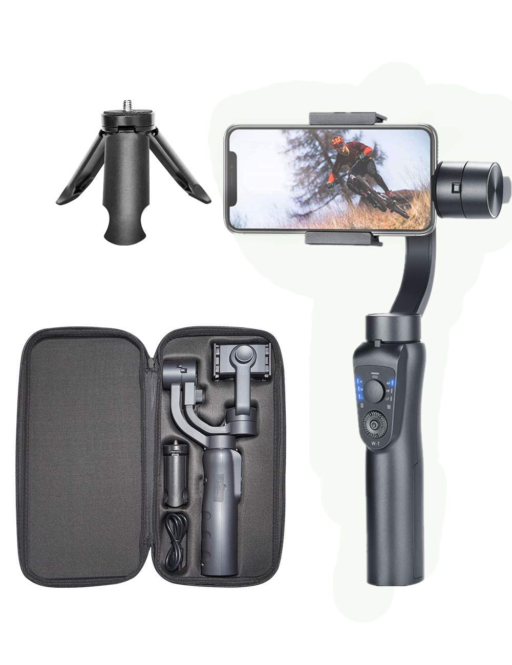 Phyismor 3-Axis Handheld Gimbal