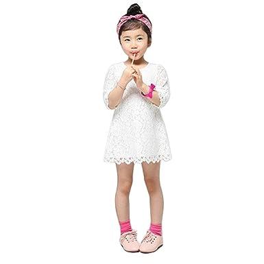 Ouneed Ouneed® Kinderkleidung, 1PC Mädchen Kleinkind Baby Spitze ...