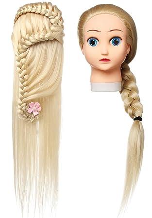 Puppen Mannequin Kopf Zum Zöpfe Flechten üben Kosmetologie Frisuren