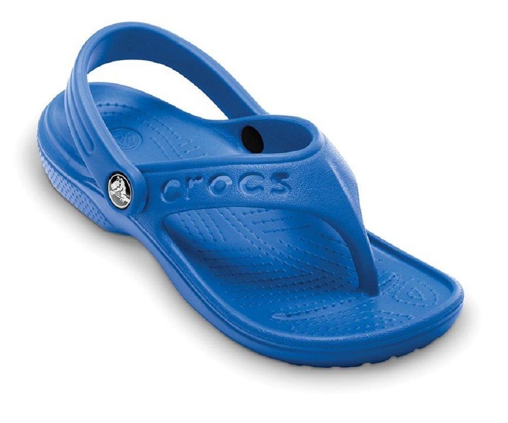 Crocs 12066 Baya Flip Sandal (Toddler/Little Kid),Sea Blue,10 M US Toddler