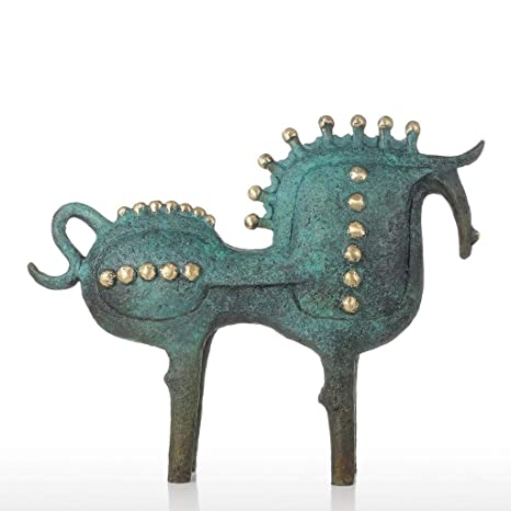 Christmas Horse Decor And Gifts For Home Ornaments With Statue