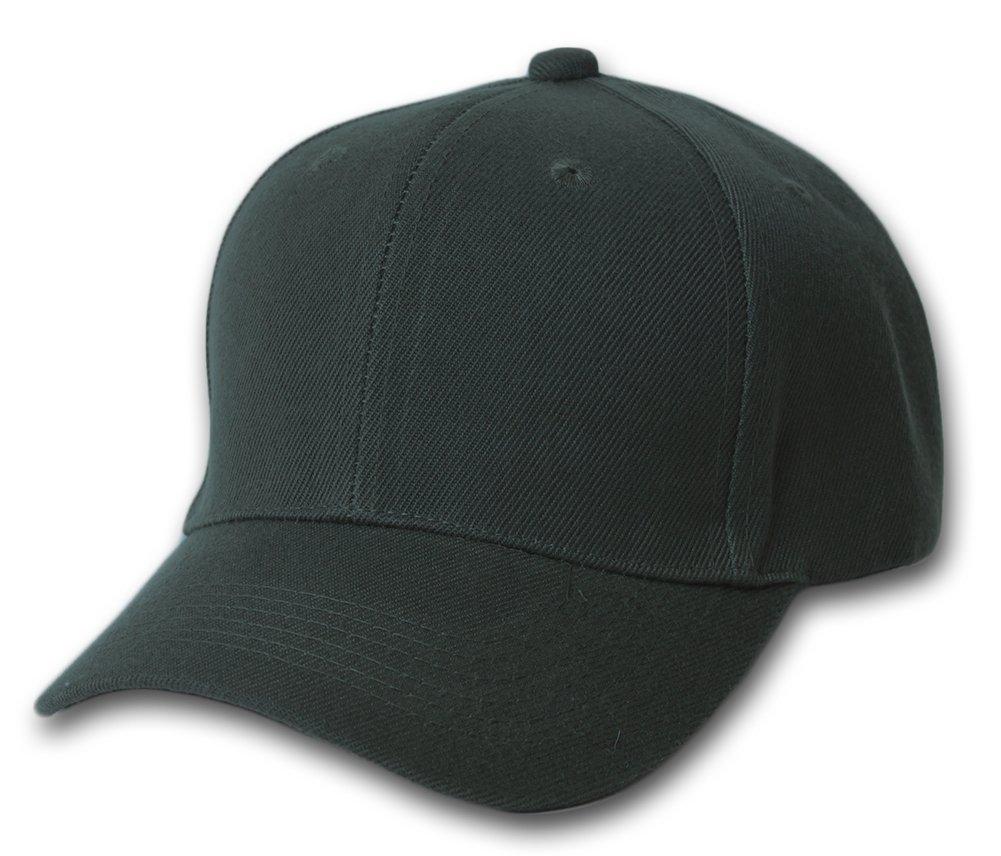03c887b4d Amazon.com: 10 Pack Lot Plain Baseball Cap Blank Hat Solid Color ...