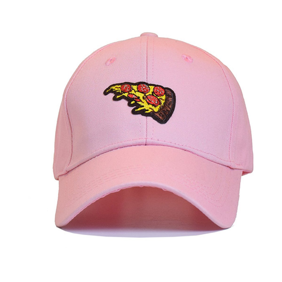 Himozoo 2019 Pizza Embroidery Baseball Cap for Women Men Unisex Adjustable Dad Hats